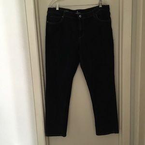 Liz Claiborne Size 18 City Fit Straight Leg Jeans